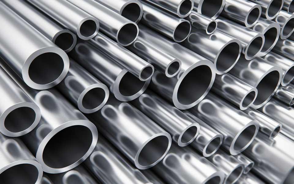 Aluminium-Rohre